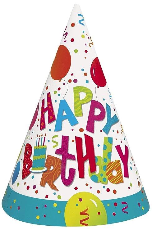 Amazon.com: Jamboree Cumpleaños, 8 ct, Multicolor: Toys & Games