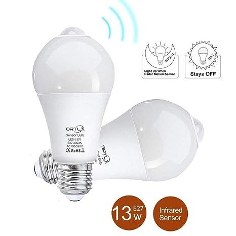. PIR LED Glühbirne Birne Lampe Mit Bewegungssensor Bewegungsmelder Licht E27