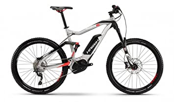 """HAIBIKE Xduro AllMtn RC - Bicicleta eléctrica Hombre - 27,5"""" negro/Plateado"""