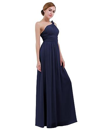 iiniim Vestido Largo Mujer Elegante para Noche Fiesta Cóctel Boda ...