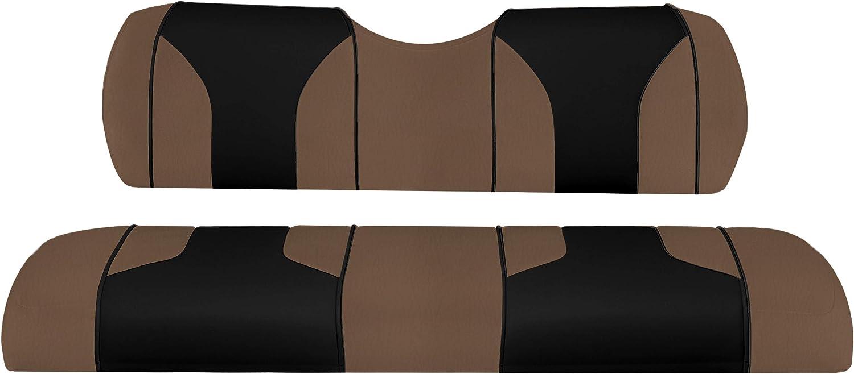 MODZ/® FC2 EZGO TXT Custom Front Seat Covers Black//Black