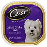Cesar Canned Dog Food Grilled Chicken, 3.5 Oz
