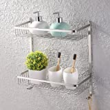 Best Kes Shower Caddies - KES Bathroom Rectangular 2-Tier Tub and Shower Caddy Review