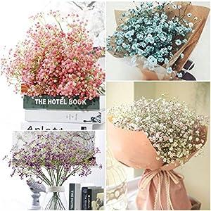 S&M TREADE Baby Breath Gypsophila Silk Wedding Flowers Bouquet Centerpieces Fillers Decor 115