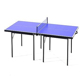 Homcom – Mesa de ping pong plegable de madera MDF, 153 x 76,5 x 67 ...