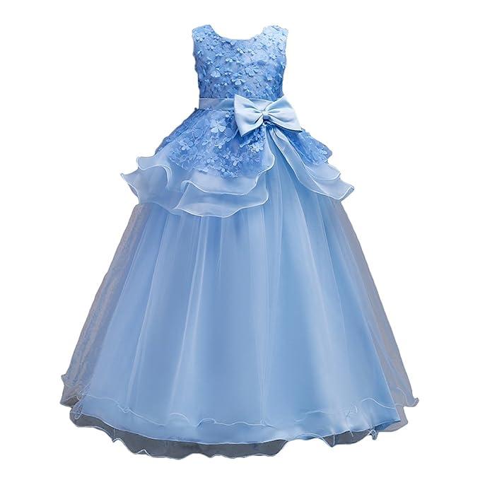 Desfile formal vestido de fiesta de cumpleaños de la boda de Highdas Vestido sin mangas azul