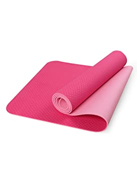 Antideslizante Yoga Mat --- TPE Alfombra antideslizante para ...
