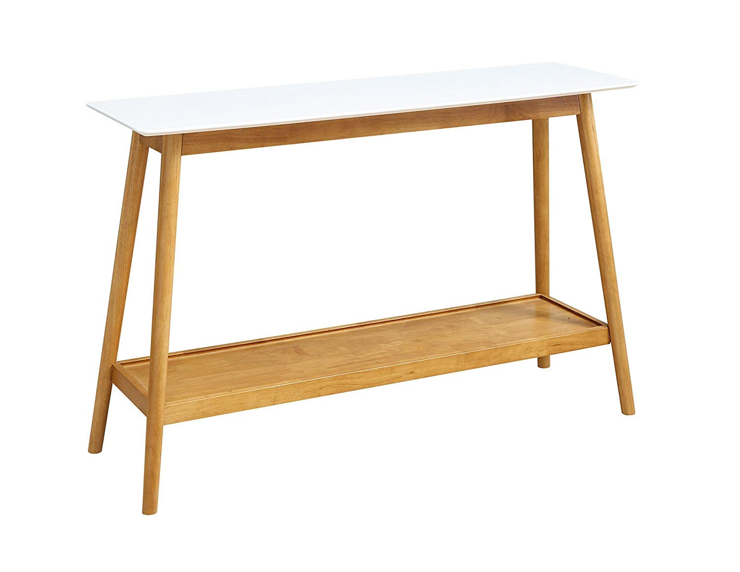 Convenience Concepts Oslo Console Table, White by Convenience Concepts