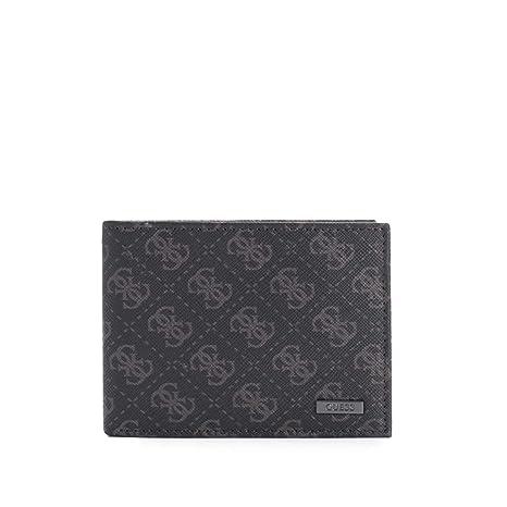Guess cartera billetera de hombre en piel nuevo marrón