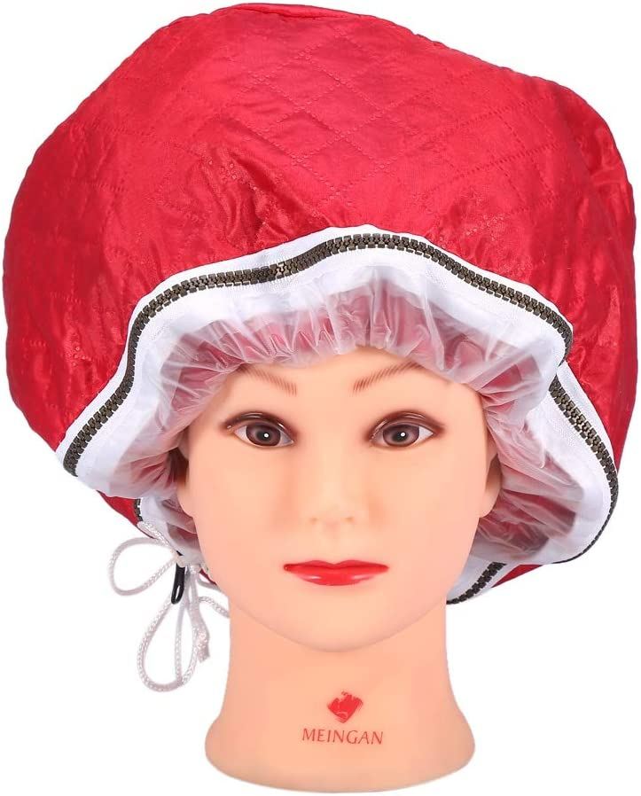 Gorra térmica - Tapa del vaporizador, temperatura que controla el sobrecalentamiento Protección del cabello Sombrero de alimentación Vapor eléctrico Cabello Belleza Casquillo de evaporación