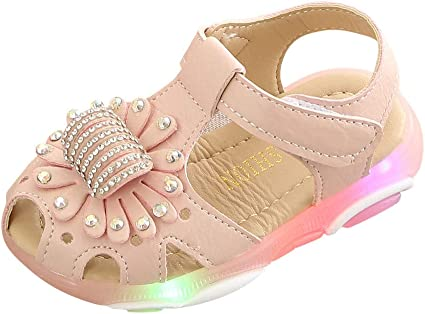 B/éb/é Enfant Fille Gar/çon Chaussures Mixte Enfant Respirant Antid/érapant Chaussons Baskets d/ét/é Running Sneakers Sandales