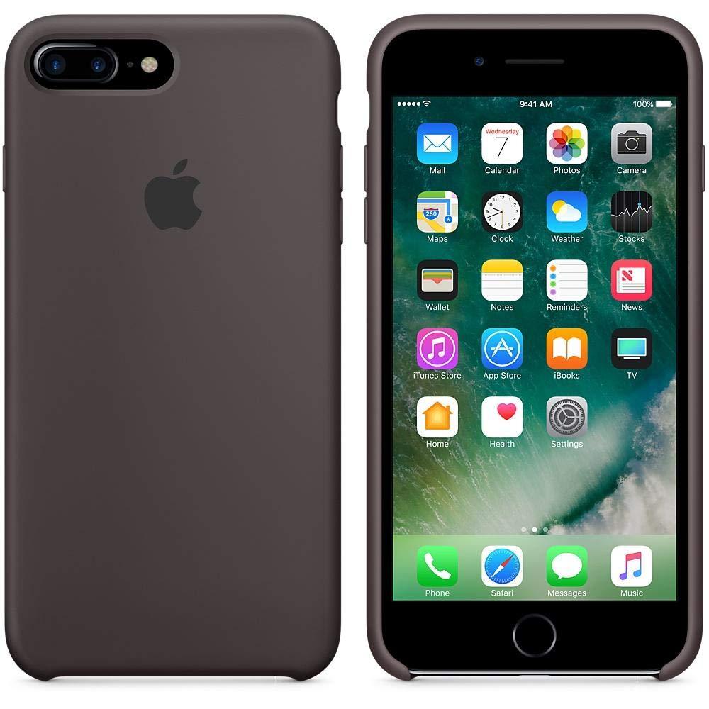 Apple Silicone case iPhone 7 Plus - Cocoa