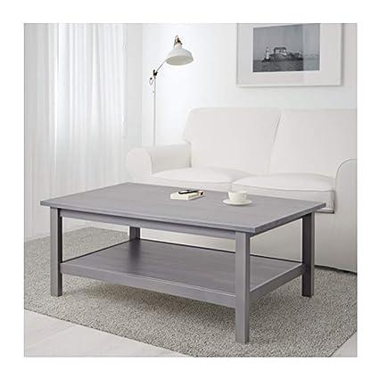 Amazon Com Ikea Hemnes Coffee Table Dark Gray Gray Stained 803 817