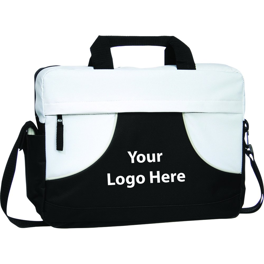 Quill Meeting Briefcase - 75 Quantity - $6.35 Each - PROMOTIONAL PRODUCT / BULK / BRANDED with YOUR LOGO / CUSTOMIZED