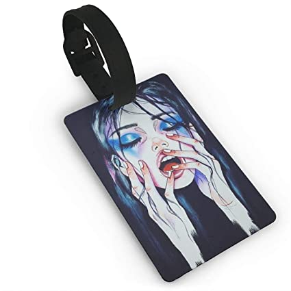 Amazon com: Luggage Tag Goth Gotik Gothic Melancholy Women Girl Art