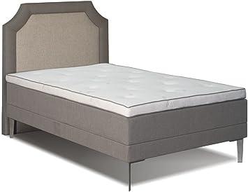 Cama con somier cama wetar con mando a distancia, Box: madera ...