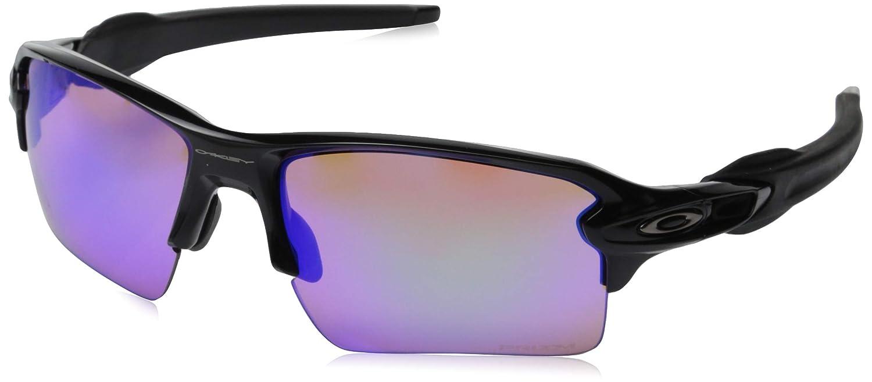 9ca6baafbd Oakley Men s Flak 2.0 XL Polished Black Prizm Golf Sunglasses   Amazon.com.au  Fashion