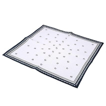 La cabina manteles individuales de mesa toalla clásico estilo europeo antideslizante Placemat mesa mate de algodón