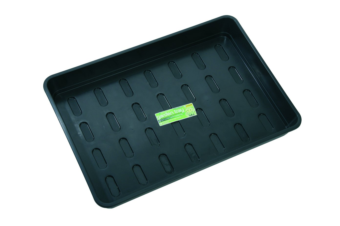 Garland GAL07BH1 Seed Tray with Drainage Holes, Black, X-Large GP153B