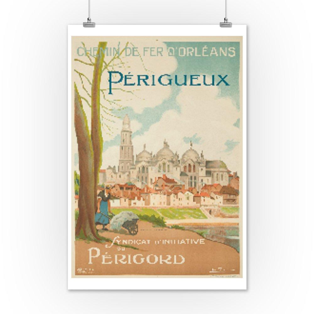 Amazon.com: Perigueux Vintage Poster (artist: Felix) France ...