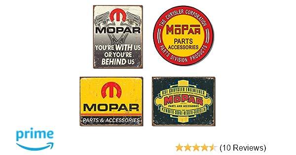 MOPAR PARTS ACCESSORIES NEON STYLE PRINTED VINYL BANNER SIGN GARAGE ART 4/' X 3/'