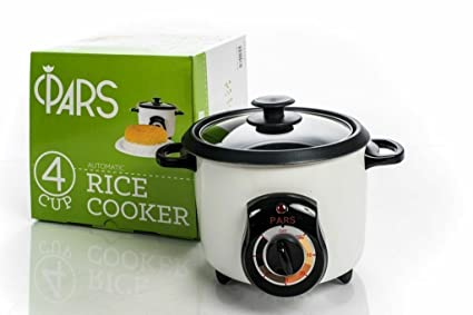 81307eea838 Amazon.com  PARS Automatic Persian Rice Cooker (4 CUP)  Kitchen   Dining