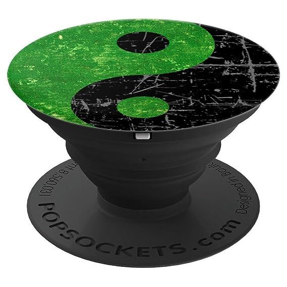 Amazon Cool Green Yin Yang Zen Symbol Peace Taoism Pop Mount