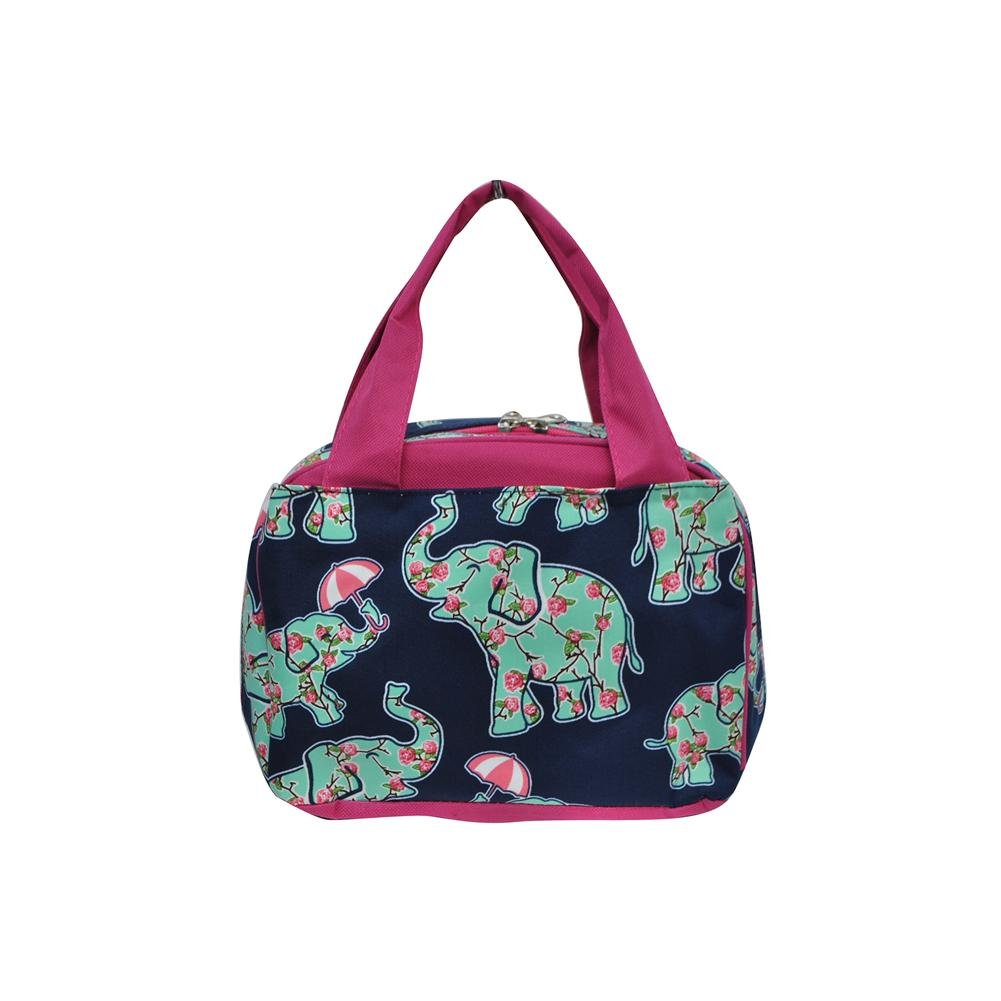 N。Gil Women and Children 's Insulated Lunchバッグ2 M 255  EPN Elephant Hot Pink B07286DPZP