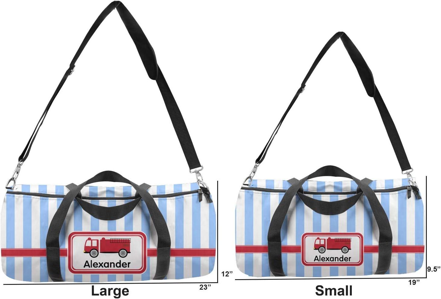 YouCustomizeIt Firetruck Duffel Bag Personalized