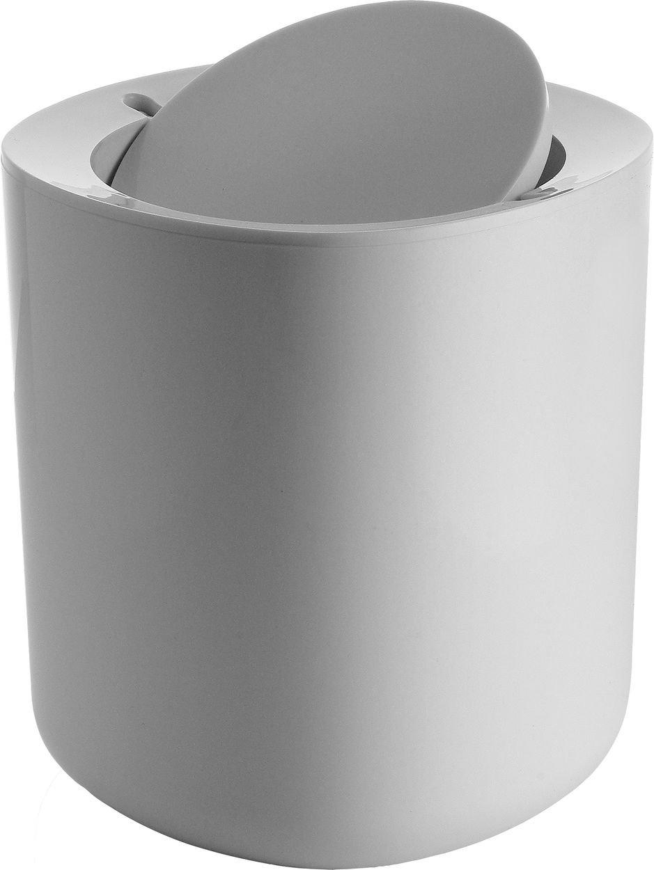 Alessi Birillo Bathroom Waste Bin, White PL10 W