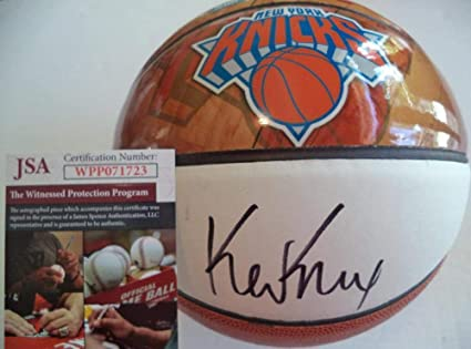 Image Unavailable. Image not available for. Color  Kevin Knox New York  Knicks Signed Nba Draft ... ed82ce5ec
