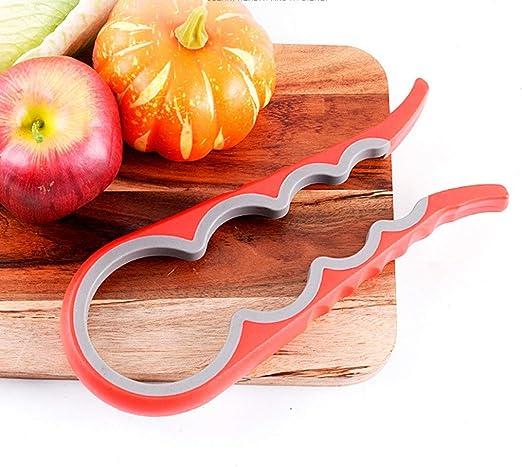 4 In 1 Pro Gourd Shape Jar Glass Lid Bottle Cap Opener Twist Kitchen  Can Opener