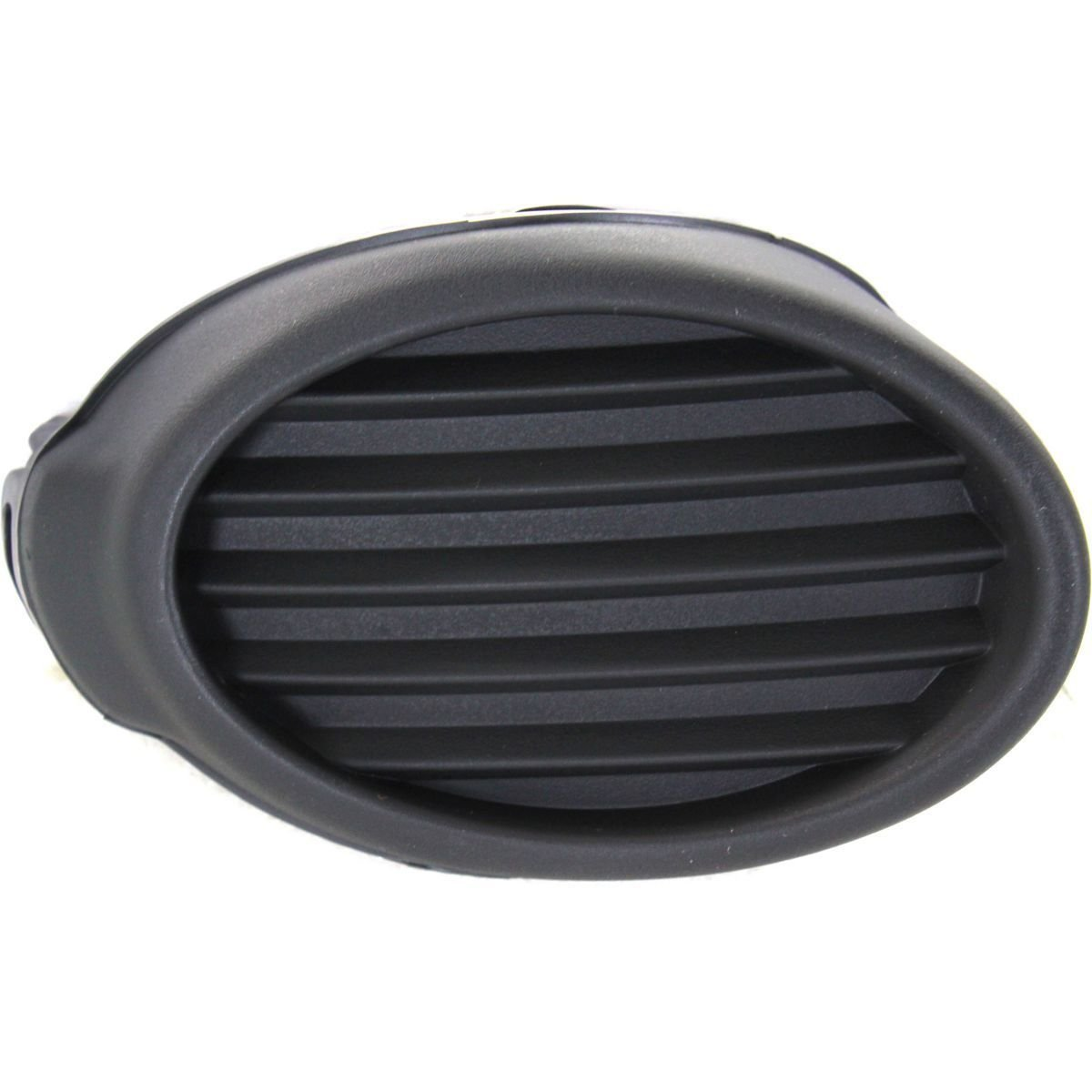 DAT AUTO PARTS Fog Light Hole Cover Replacement for 2012-2013 Ford Focus for S and SE Models Without FOGS Left Driver Side Black FO1038116