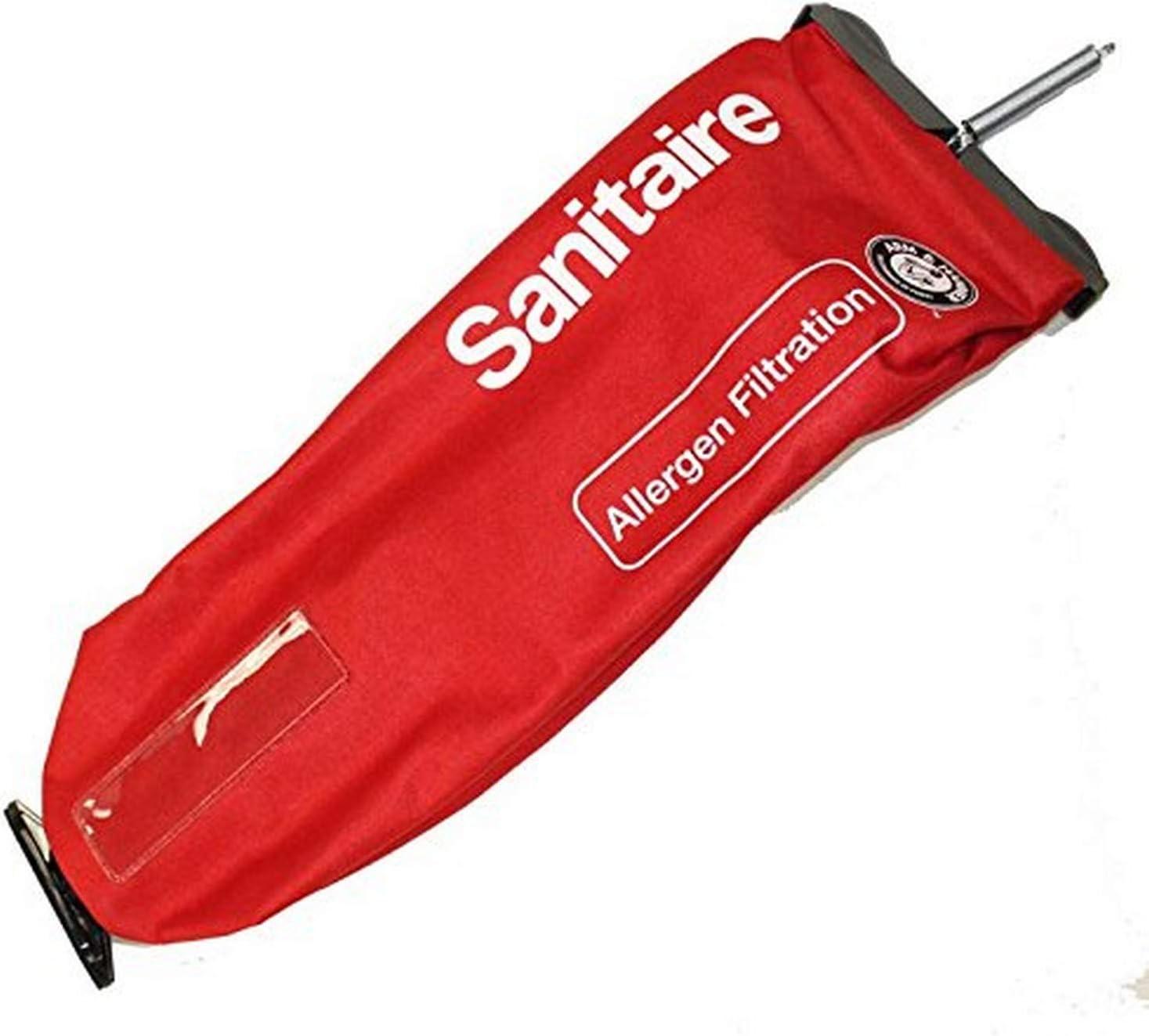 Eureka 53469-23 Cloth, Red Zipper SC888J ST Paper Bag 2 Screw