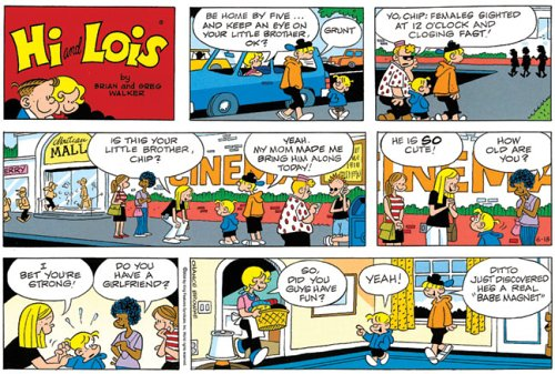 hi und lois comic strip