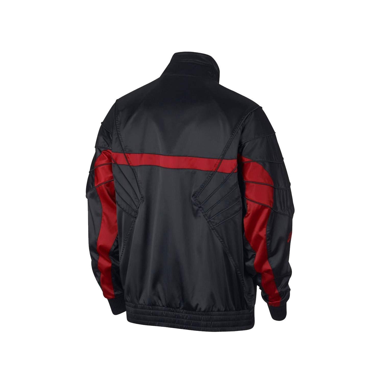 eeb214a03269f3 Nike Mens JSW AJ5 Satin JKT AR3130-010 at Amazon Men s Clothing store