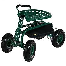 Sunnydaze Rolling Cart