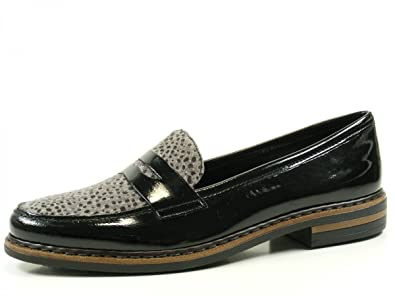 rieker shoes reviews, Rieker 50662 01 schwarzgrau schwarz