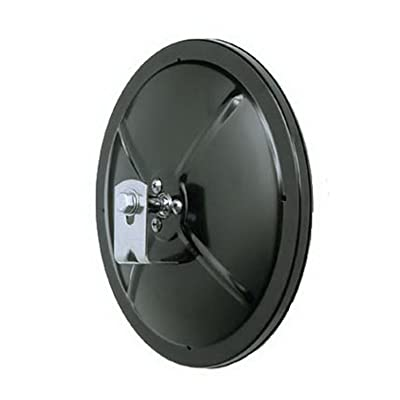 "CIPA 48500, 5"" Round Convex Black: Automotive"