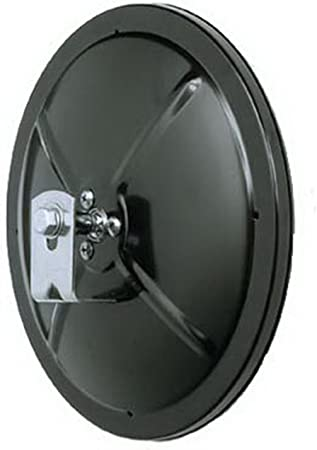 """Convex, Clamp On, Round, Blk, 5/"""" Peterson Manufacturing 654 Mirror"""