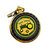 Pocket Watch Tractor Model B Franklin Mint Collectible Pocketwatch