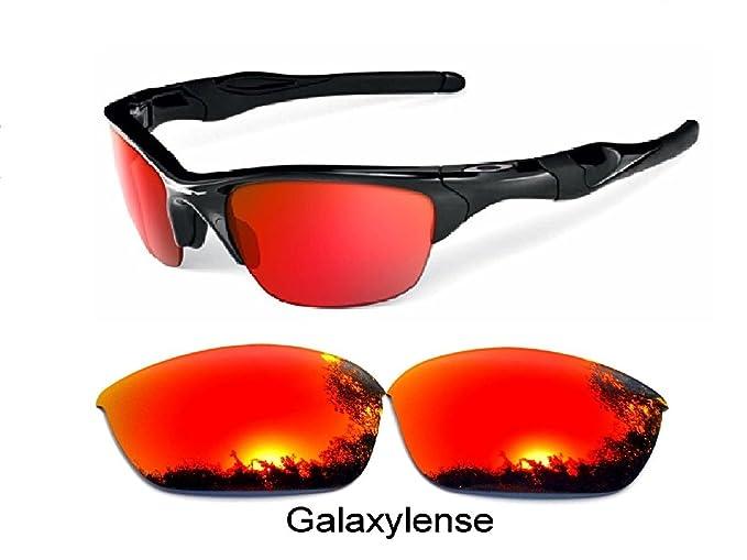 galaxylense Hombre Lentes De Repuesto Para Oakley Half Jacket 2.0 GAFAS DE SOL POLARIZADAS ROJO