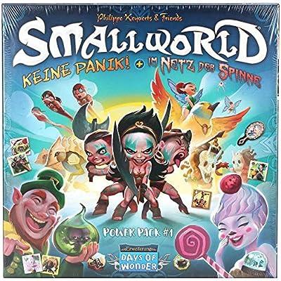 Days of Wonder DOW0010 Small World-Power Pack 1 - Ampliación de ...