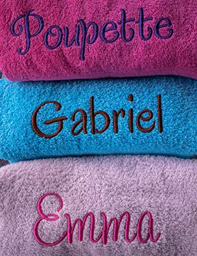 Toalla de baño personalizada, toalla personalizada, regalo ideal, toalla de nombre, regalo