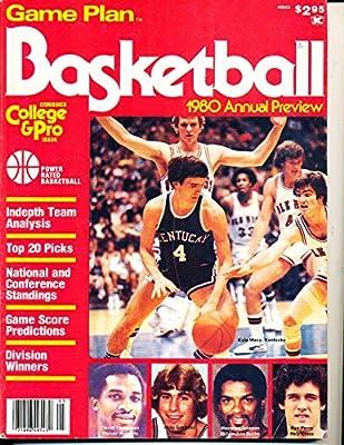 1980 Game Plan Basketball Preview Kyle Macy Kentucky magazine NBA10