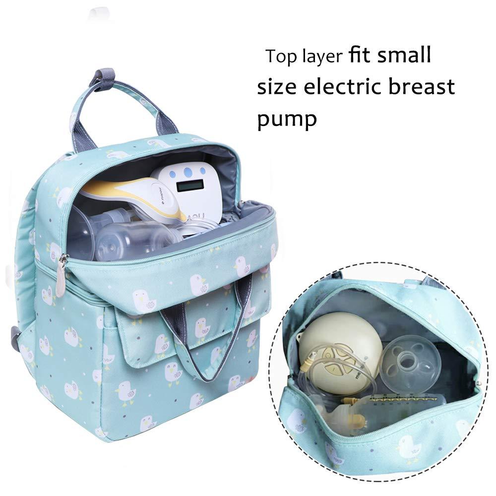 Amazon.com: Mochila para bomba de pecho, bolsa refrigerante ...