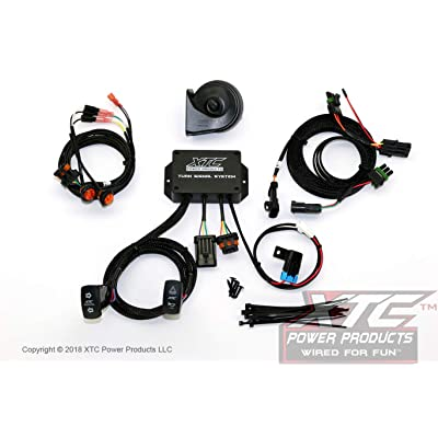 XTC Power Products Can-Am Maverick X3 Street Legal Turn Signal System with Horn - Plug & Play - Uses Factory Tail Lights: Automotive