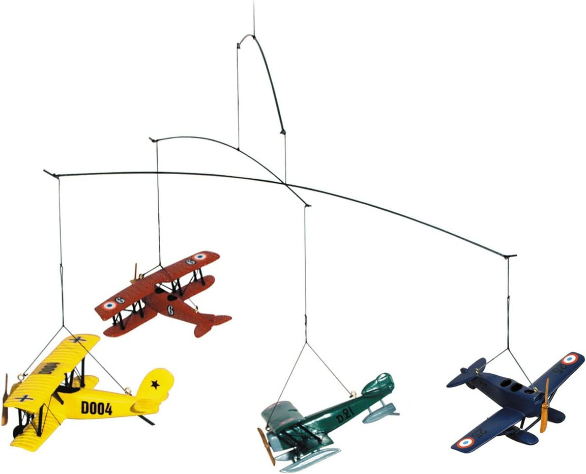 Authentic Models Flight Mobile mit 1920'S Vintage Airplanes