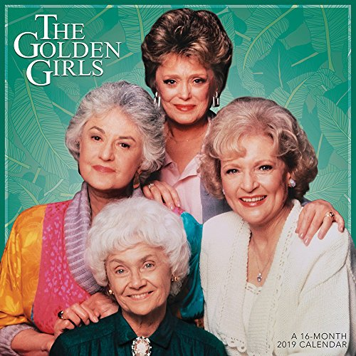 Golden Girls Wall Calendar (2019)