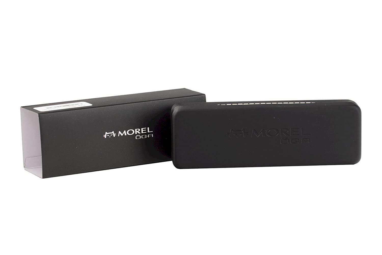 Morel Eyeglasses OGA 10020O 10020//O GN08 Dark Grey Half Rim Optical Frame 55mm